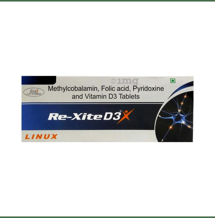 Rexite -D3 Tablet