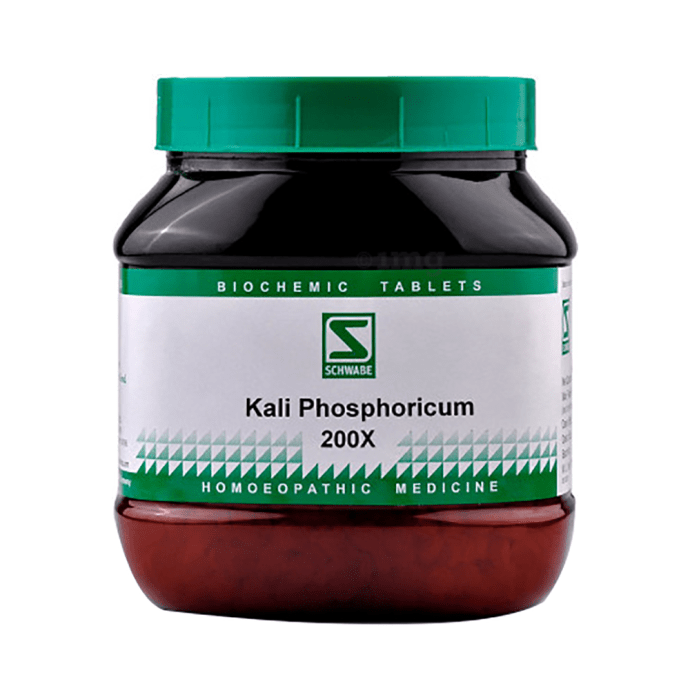 Dr Willmar Schwabe India Kali Phosphoricum Biochemic Tablet 200X