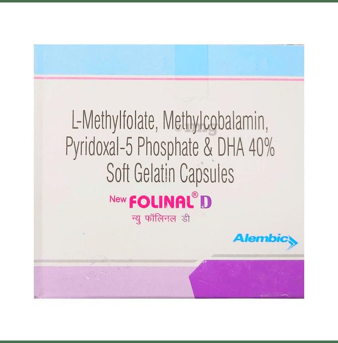 New Folinal D Soft Gelatin Capsule