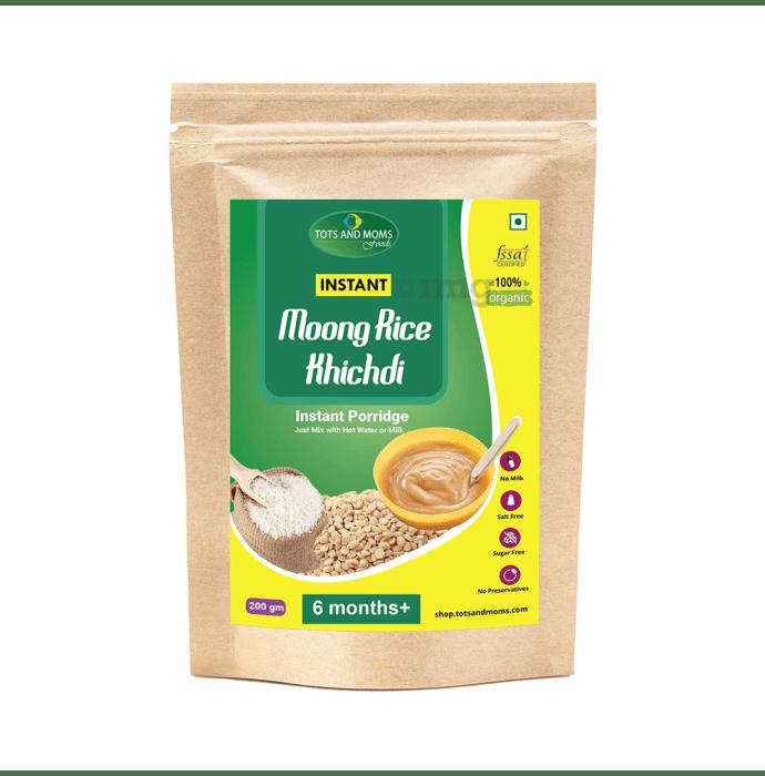 Tots and Moms Instant Moongdal Rice Khichdi Mix