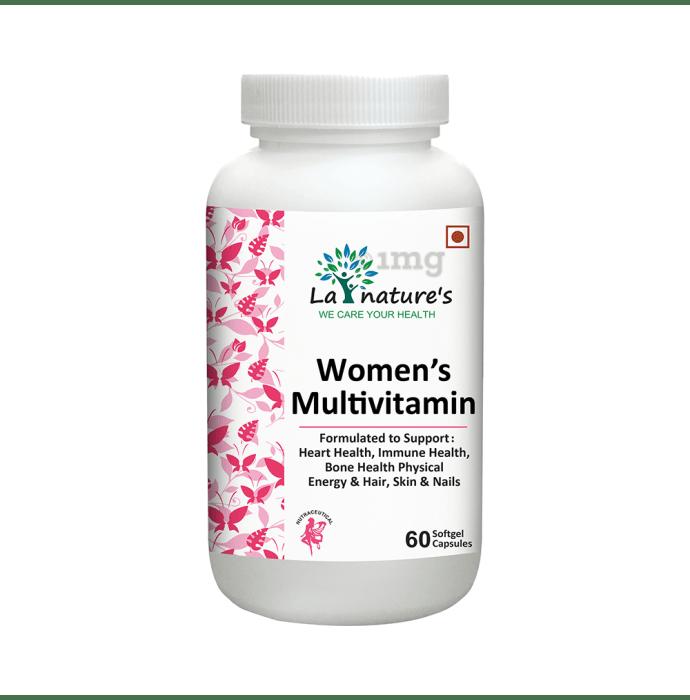 La Nature's Women's Multivitamin Softgel Capsules
