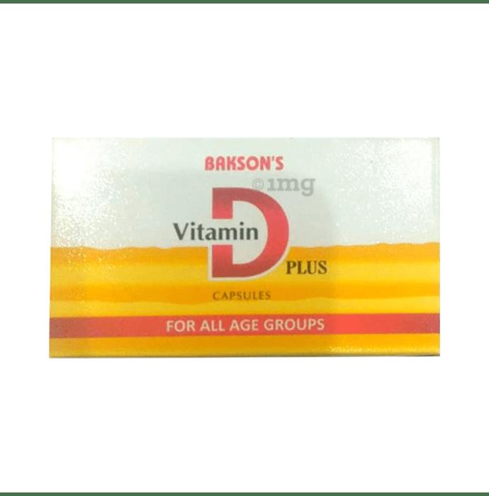 Bakson's Vitamin D Plus Capsule