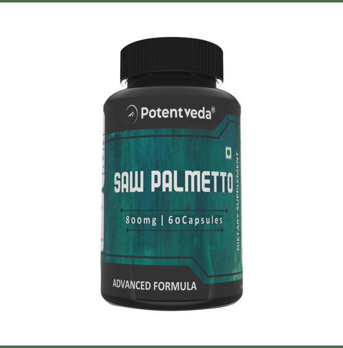Potentveda Saw Palmetto 800mg Capsule