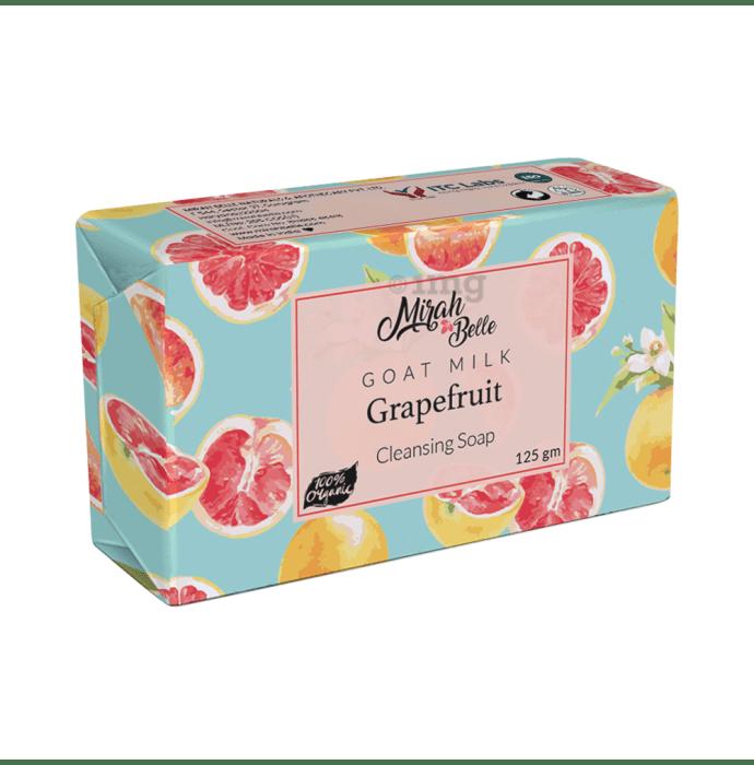 Mirah Belle Goat Milk, Grapefruit Cleansing Soap