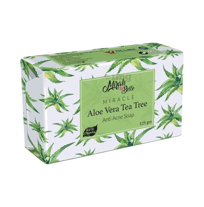 Mirah Belle Miracle Aloe Vera Tea Tree Anti Acne Soap