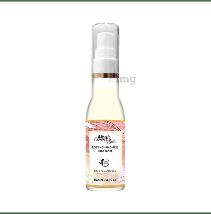 Mirah Belle Rose Chamomile Skin Softening Face Toner