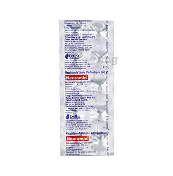 Neuromin 500mcg Tablet