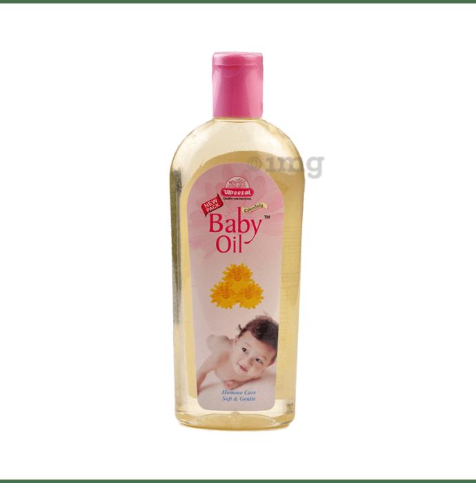 Wheezal Calendula Baby Oil