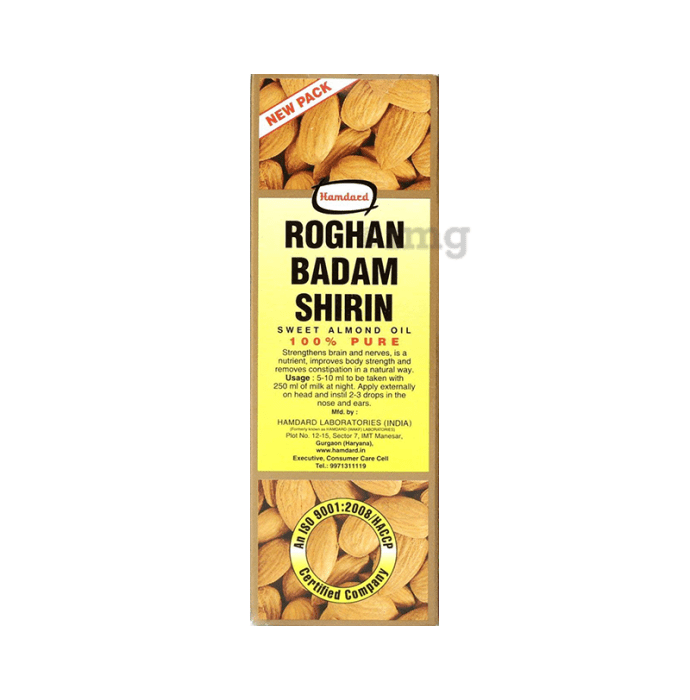 Hamdard Roghan Badam Shirin Oil