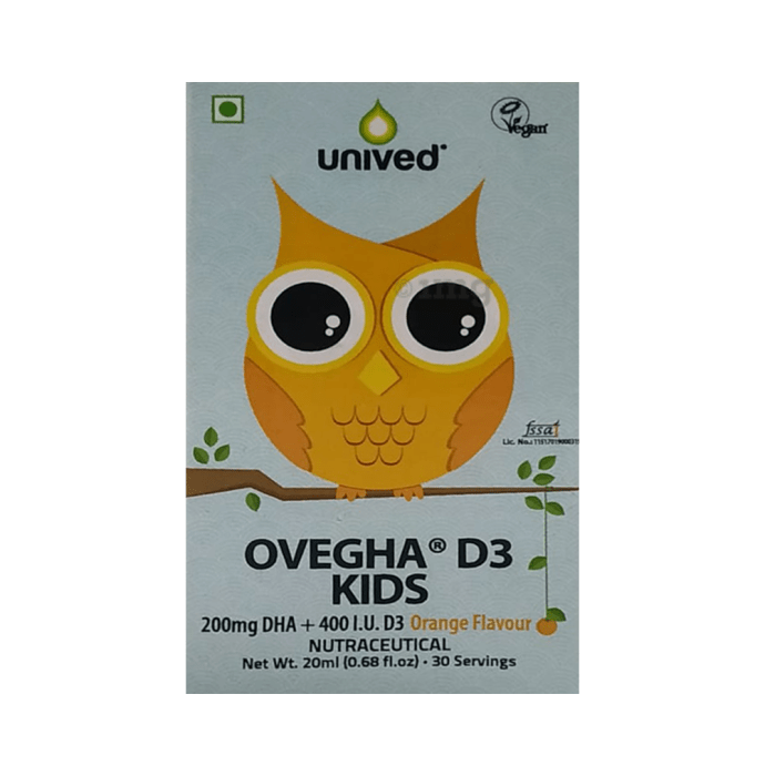 Unived Ovegha D3 Kids Orange
