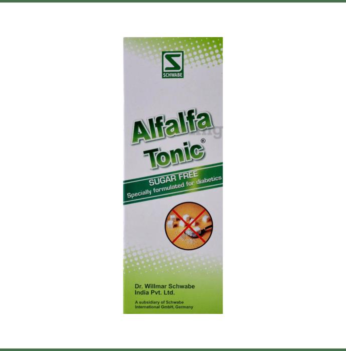 Dr Willmar Schwabe India Alfalfa Sugar Free Tonic