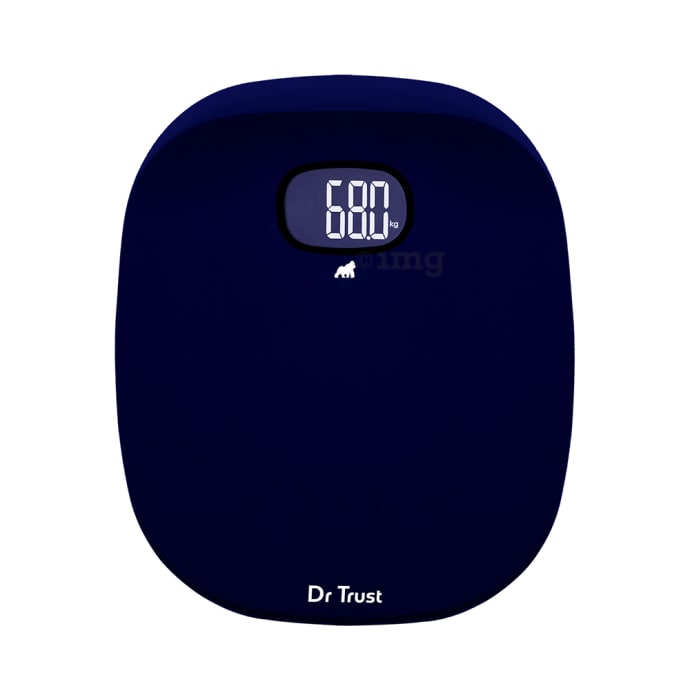 Dr Trust USA Absolute Personal Digital Scale Weighing Machine Blue
