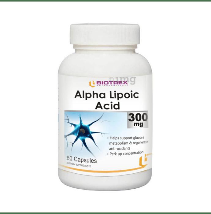 Biotrex Alpha Lipoic Acid 300mg Capsule