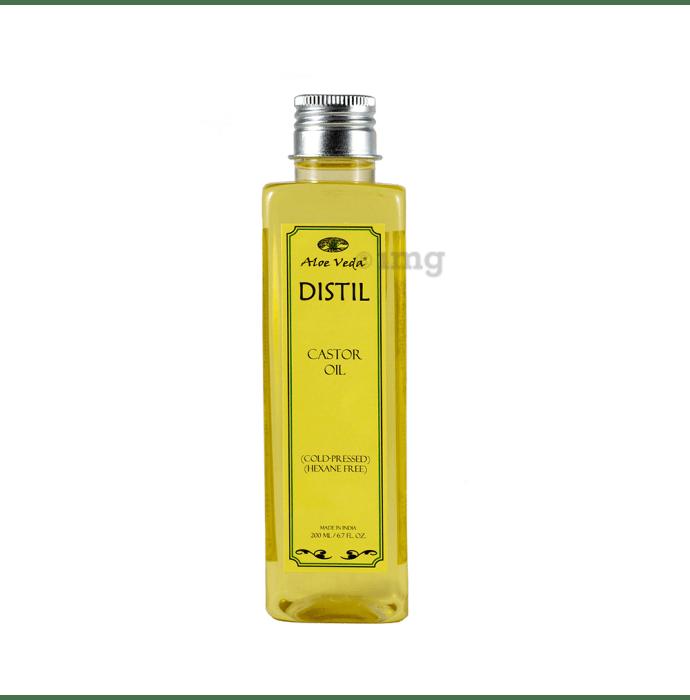 Aloe Veda Cold Pressed Castor Oil