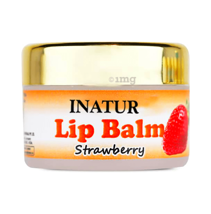 Inatur Lip Balm Strawberry