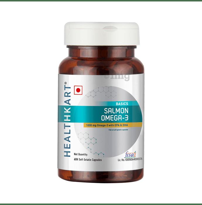 HealthKart Salmon Omega-3 Soft Gelatin Capsule