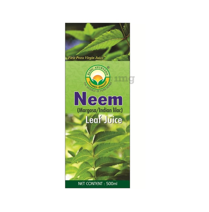 Basic Ayurveda Neem Leaf Juice
