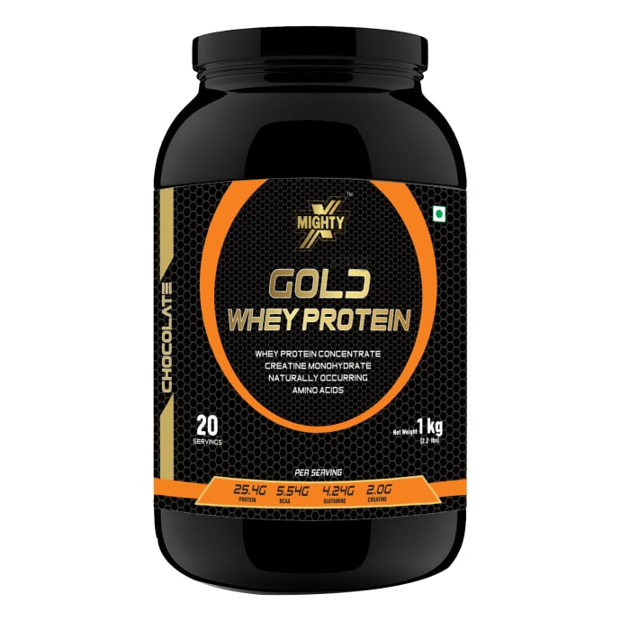 MightyX Gold Whey Protein Chocolate