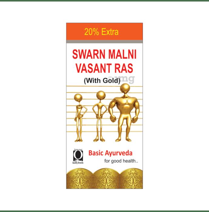 Basic Ayurveda Swarn Malni Vasant Ras with Gold