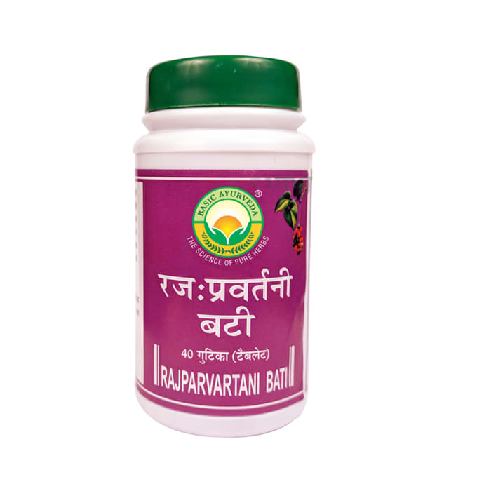Basic Ayurveda Rajparvartani Bati