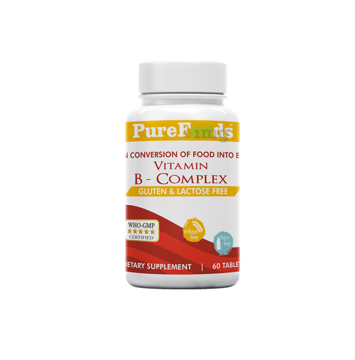 PureFoods Vitamin B-Complex Capsule Gluten Free