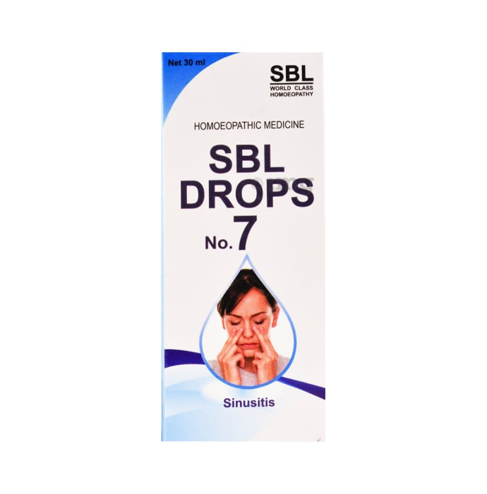 SBL Drops No. 7 (For Sinusitis)