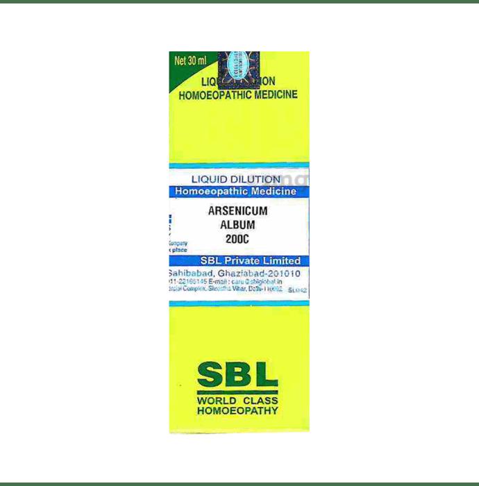 SBL Arsenicum Album Dilution 200 CH