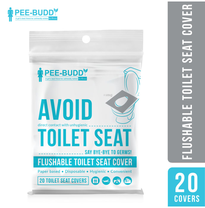 PeeBuddy Toilet Seat Cover Flushable