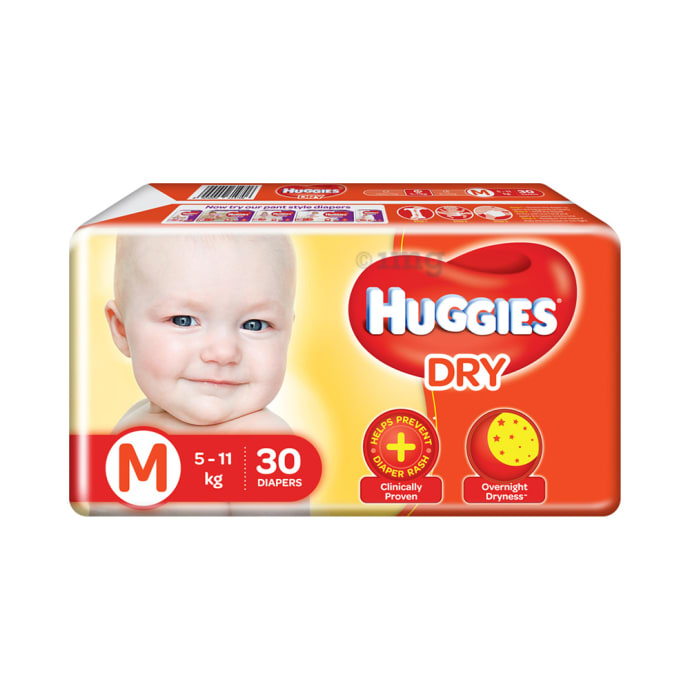 Huggies Dry Diaper M