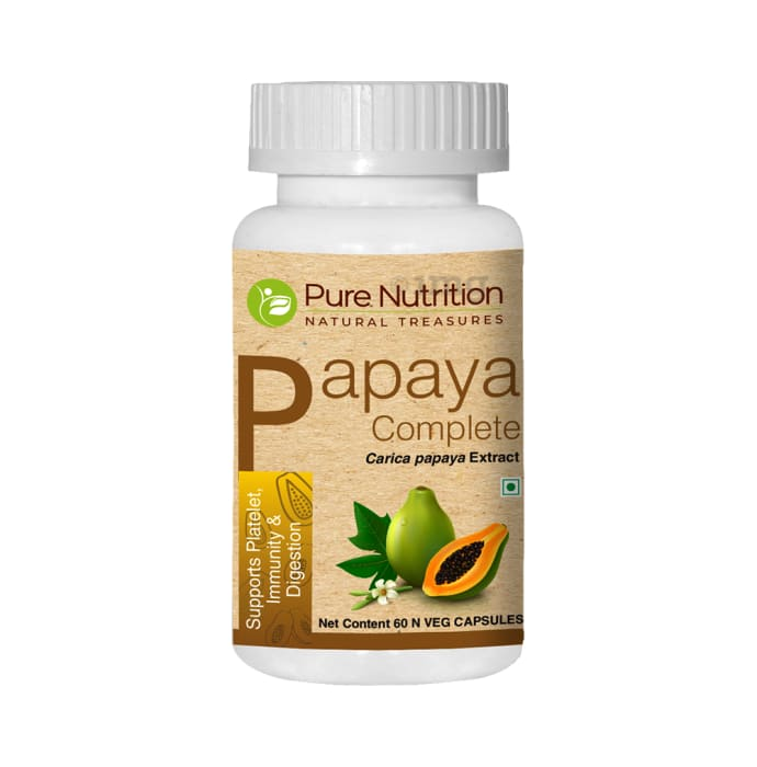 Pure Nutrition Papaya Complete Capsule