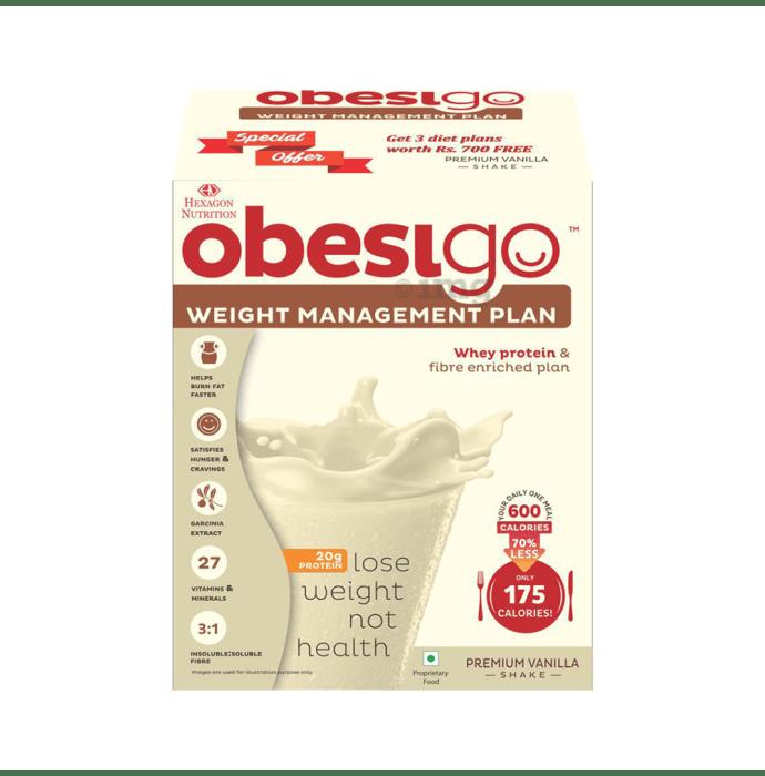 Obesigo Whey Protein 50gm Sachet Vanilla