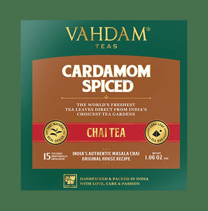 Vahdam Teas Masala Chai Tea (2gm Each) Cardamom Spiced