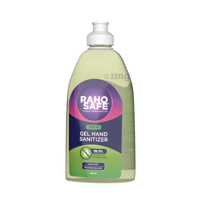Raho Safe Gel Hand Sanitizer Neem