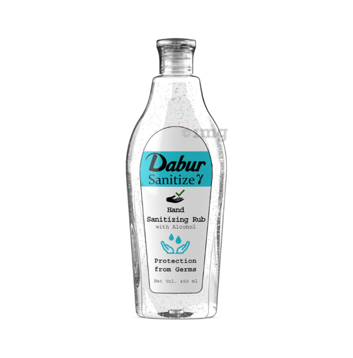 Dabur Sanitize Hand Sanitizing Rub with Alcohol Gamma