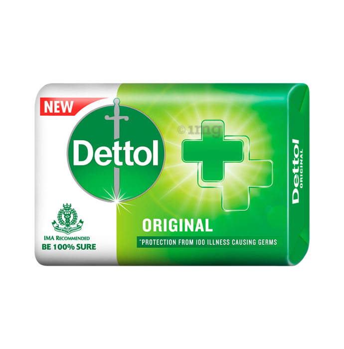 Dettol Original Soap (75gm Each)