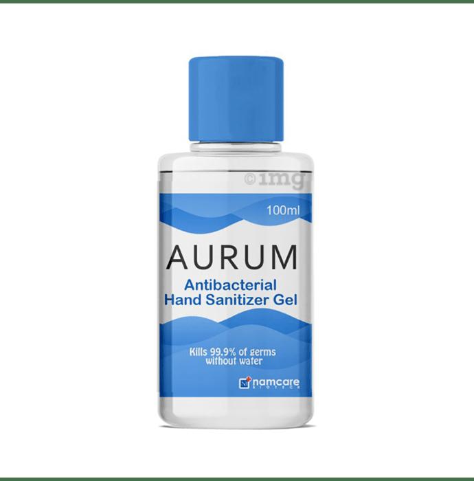 Aurum Antibacterial Hand Sanitizer Gel