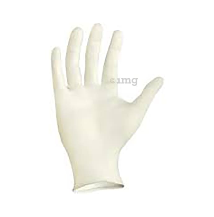 Dominion Care Latex Examination Glove Medium