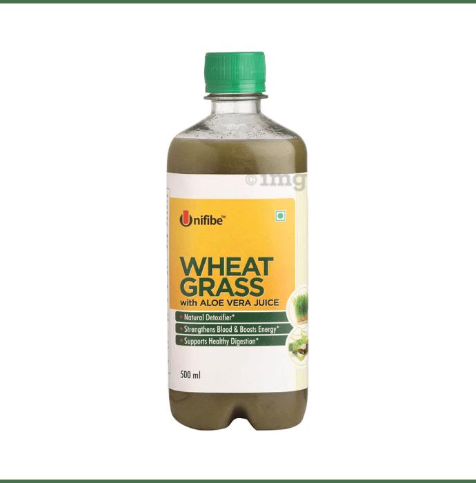 Unifibe Wheatgrass with Aloe Vera Juice