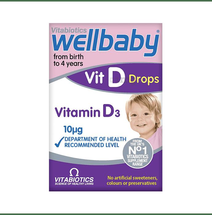 Wellbaby Vit D3 Oral Drops