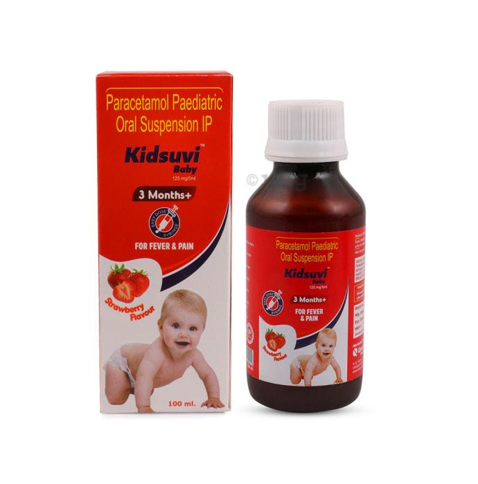 Kidsuvi Baby Oral Suspension Strawberry