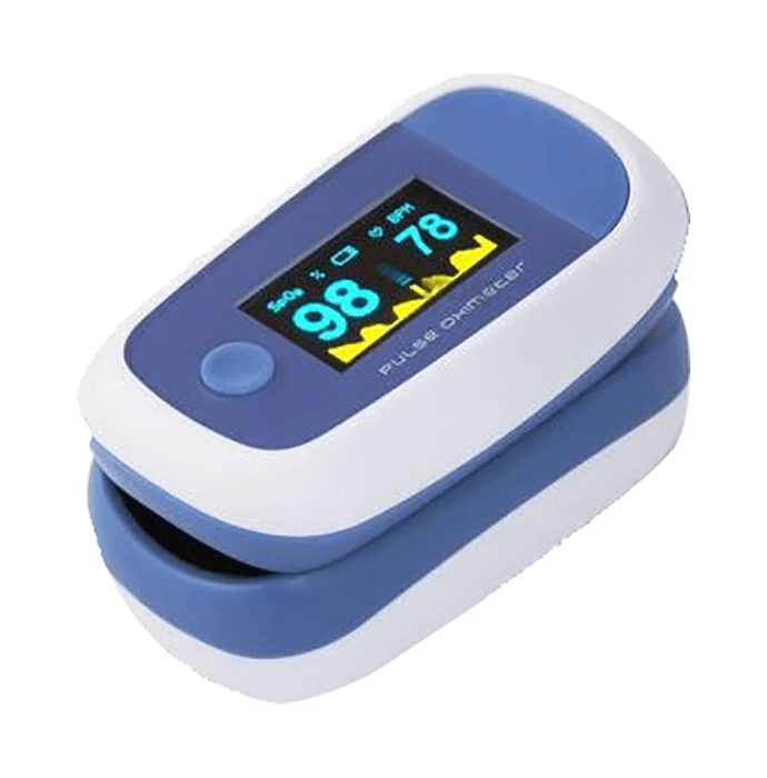 SLC PO407-FT Fingertip Pulse Oximeter with Beep Sound