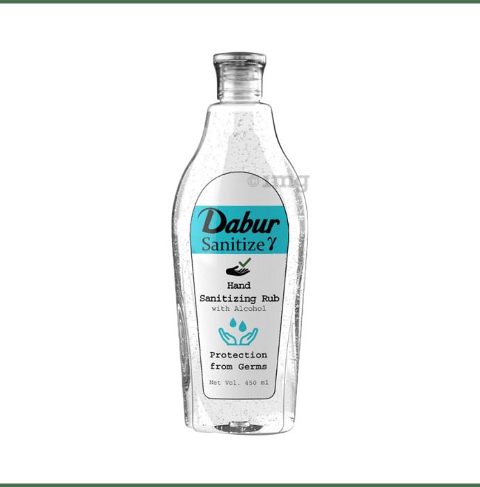 Dabur Gamma Sanitize Hand Sanitizing Rub with Alcohol