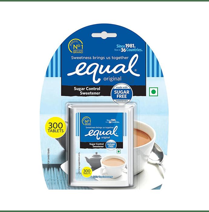 Equal Original Sugar Control Sweetener Tablet Sugar Free