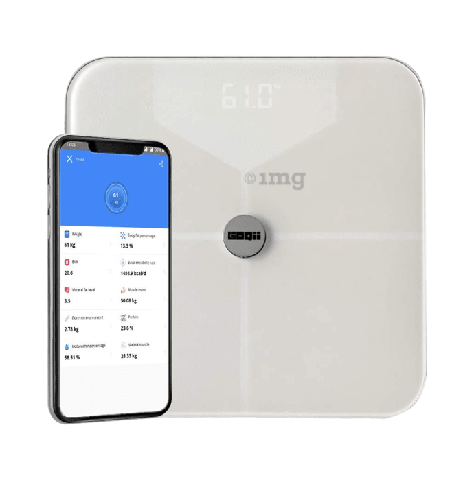 GOQii Balance Body Composition Monitor with 3 Months Personal Coaching Subscription White