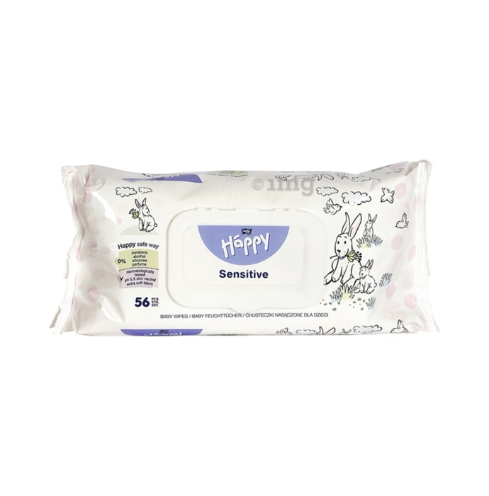 Bella Baby Happy Wet Wipes Sensitive Aloevera