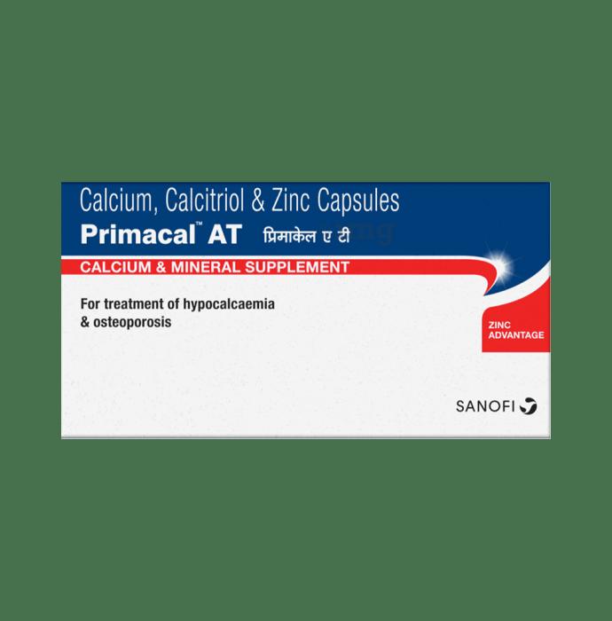 Primacal AT Calcium & Mineral Supplement Capsule