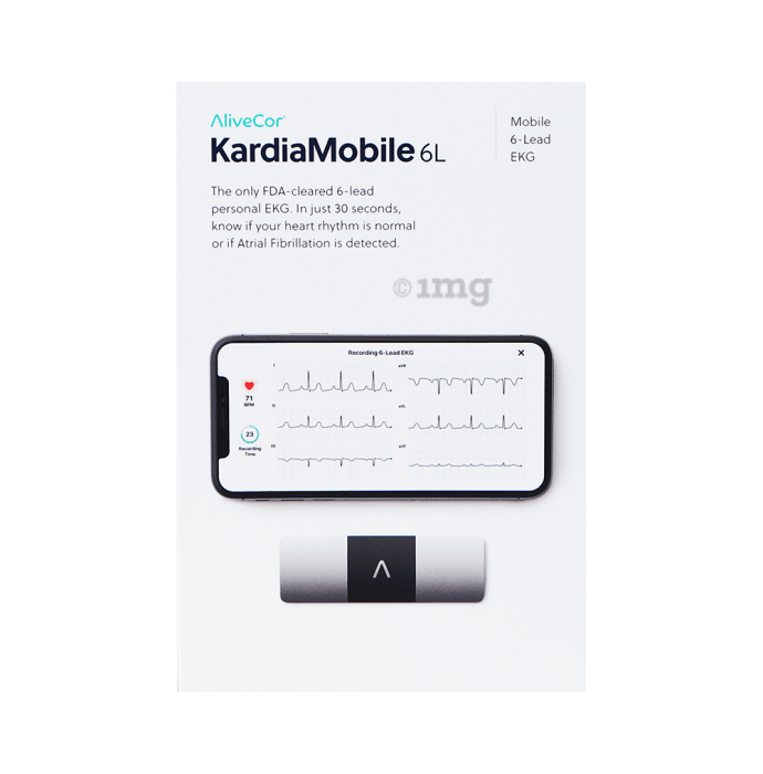 AliveCor KardiaMobile 6L ECG Monitor