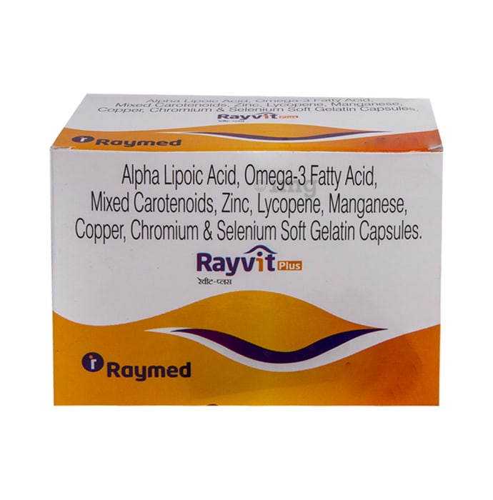 Rayvit Plus Soft Gel Capsule