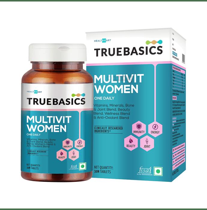 TrueBasics MultivitWomen Tablet