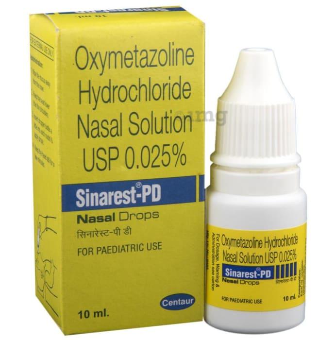 Sinarest-PD Nasal Drops